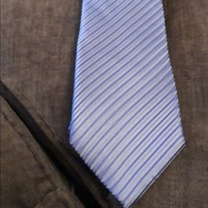 Light Blue Donald J Trump Tie